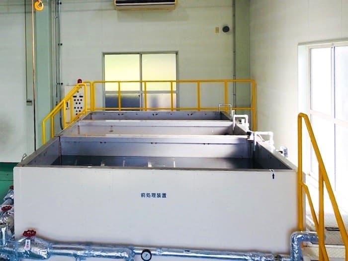 リン酸鉄処理槽(前処理槽)